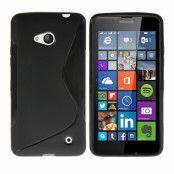 Flexicase Skal till Microsoft Lumia 640 - Svart