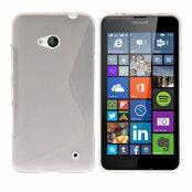 Flexicase Skal till Microsoft Lumia 640 - Transparent