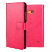 Plånboksfodral till Microsoft Lumia 640 - Magenta