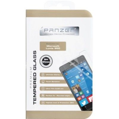 Panzer Tempered Glass Displayskydd till Microsoft Lumia 950
