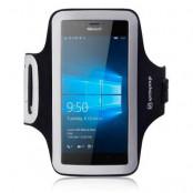Shocksock Sportarmband till Microsoft Lumia 950 - Svart