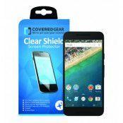 CoveredGear Clear Shield skärmskydd till LG Nexus 5X