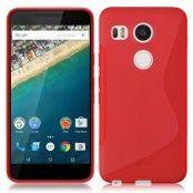 Flexicase Skal till LG Nexus 5X - Röd
