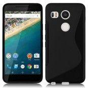 Flexicase Skal till LG Nexus 5X - Svart