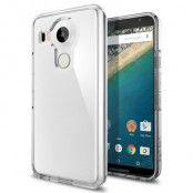 Spigen Ultra Hybrid Skal till LG Nexus 5X - Crystal Clear