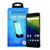 CoveredGear Clear Shield skärmskydd till Huawei Nexus 6P