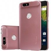 Nillkin Frosted Mobilskal till Huawei Nexus 6P (Rose Gold) + Skärmskydd