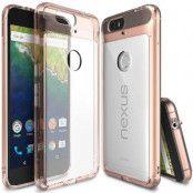 Ringke Fusion Shock Absorption Skal till Huawei Nexus 6P - Rose Gold