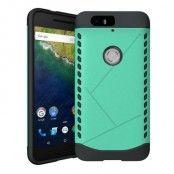 Tough Shield Skal till Huawei Nexus 6P - Grön