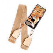 BOOM OF SWEDEN - Halsband mobilskal till OnePlus 8 - Belt Beige