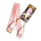 BOOM OF SWEDEN - Halsband mobilskal till OnePlus 6 - Belt Pink