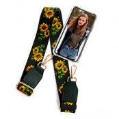 BOOM OF SWEDEN - Halsband mobilskal till OnePlus 6 - Belt Sunflower
