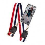 BOOM OF SWEDEN - Halsband mobilskal till OnePlus 6T - Belt RedBlack