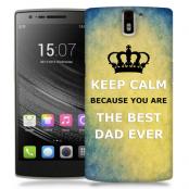 Skal till OnePlus One - Keep Calm - Best dad