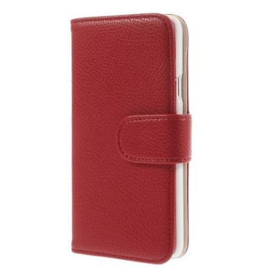 Embossed Plånboksfodral till Samsung Galaxy A3 (2015) - Röd