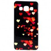 Flexicase skal till Samsung Galaxy A3 (2015) - Colorful Hearts