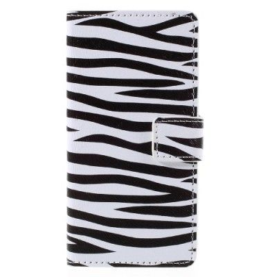 Plånboksfodral till Samsung Galaxy A3 (2016) - Zebra