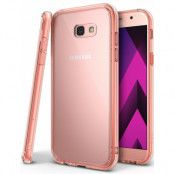 Ringke Fusion Shock Absorption Skal till Samsung Galaxy A3 (2017) - Rose Gold