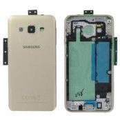 Samsung Galaxy A3 Baksida batterilucka original - Guld