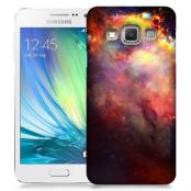 Skal till Samsung Galaxy A3 (2015) - Rymden - Svart
