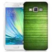 Skal till Samsung Galaxy A3 (2015) - Wood - Grön