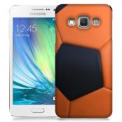 Skal till Samsung Galaxy A3 - Fotboll - Orange