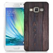 Skal till Samsung Galaxy A3 - Mörkbetsat trä