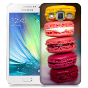 Skal till Samsung Galaxy A3 - Macarons - Rosa