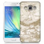 Skal till Samsung Galaxy A3 - Marble - Beige
