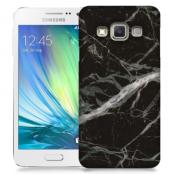 Skal till Samsung Galaxy A3 - Marble - Svart