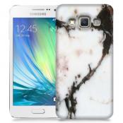 Skal till Samsung Galaxy A3 - Marble - Vit