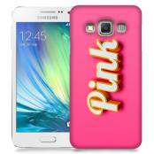 Skal till Samsung Galaxy A3 - Pink - Rosa