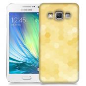 Skal till Samsung Galaxy A3 - Prismor - Gul