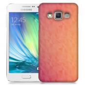 Skal till Samsung Galaxy A3 - Prismor - Rosa/Orange
