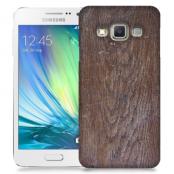 Skal till Samsung Galaxy A3 - Slitet trä