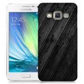 Skal till Samsung Galaxy A3 - Svart trä