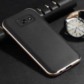 Carbon Fiber Hybrid Skal till Samsung Galaxy A5 (2017) - Gold