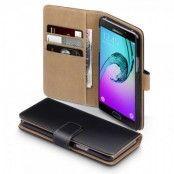 Plånboksfodral till Samsung Galaxy A5 2016 - Svart/brun