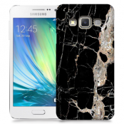 Skal till Samsung Galaxy A5 - Marble - Svart