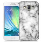 Skal till Samsung Galaxy A5 - Marble - Vit/Svart
