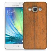 Skal till Samsung Galaxy A5 - Slitet trä
