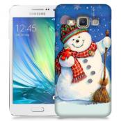 Skal till Samsung Galaxy A5 - Snögubbe