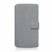 Slimmat Plånboksfodral till Samsung Galaxy A5 (2017) - Grå
