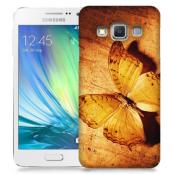 Skal till Samsung Galaxy A7 - Fjäril