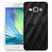 Skal till Samsung Galaxy A7 - Svart trä