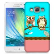 Skal till Samsung Galaxy A7 - Ugglor i träd