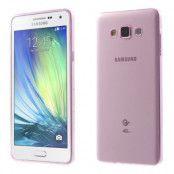 Ultra-Thin 0.6mm Flexicase Skal till Samsung Galaxy A7 - Rosa