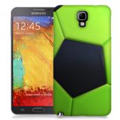 Skal till Samsung Galaxy Note 3 Neo - Fotboll - Grön