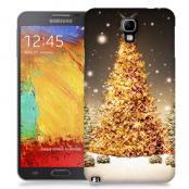Skal till Samsung Galaxy Note 3 Neo - Glimmrande Julgran