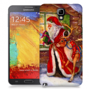 Skal till Samsung Galaxy Note 3 Neo - Jultomte och ren